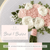 Blush & Bashful Hand Embroidery Color Palette by And Other Adventures Embroidery Co