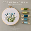 Ocean Daydream Beginner Hand Embroidery kit by And Other Adventures Embroidery Co