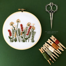 Embroidery Kit for Beginners - Autumn Meadow by And Other Adventures Embroidery Co
