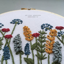 Winter Meadow Hand Embroidery PDF Pattern - Digital Download