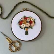 Hand Embroided Floral Bouquet Hoop art by And Other Adventures Embroidery Co