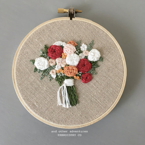 Embroidered Bouquet No. 54