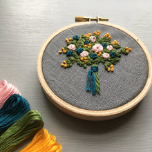 Farmers Market Embroidered Bouquet No. 12