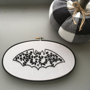 Halloween embroidery