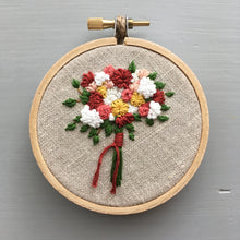 Farmers Market Embroidered Bouquet No. 17