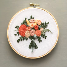 The Bloom Collection - The Lorelei Bouquet Embroidery Pattern