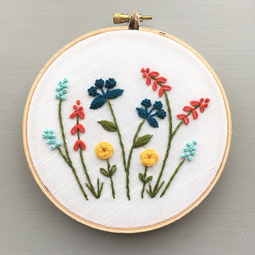 In Bloom Floral Embroidery