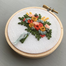 Farmers Market Embroidered Bouquet No. 27