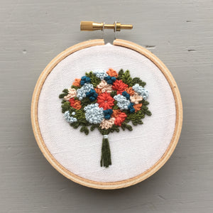 Floral Bouquet Embroidery