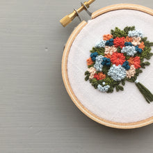 Embroidered Fall Bouquet