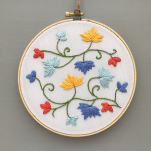 Colorful Needlepoint