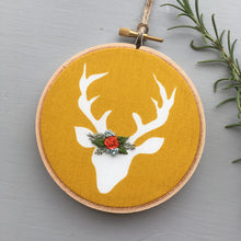 Hand Embroidered Deer