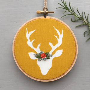 Woodland Animal Embroidery