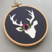 Deer Embroidery by And Other Adventures Embroidery Co