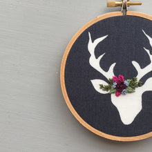 Christmas Embroidery Ornament by And Other Adventures Co