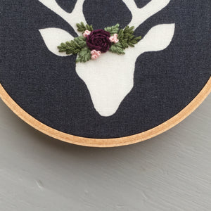 Floral Crown Embroidery