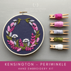 Kensington - Periwinkle Hand Embroidery Kit | And Other Adventures Embroidery Co