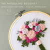 The Madeleine Bouquet Hand Embroidery Pattern digital download by And Other Adventures Embroidery Co