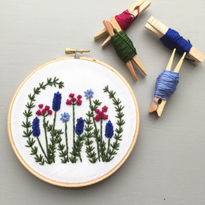Wild Garden - Hand Embroidery Pattern Digital Download