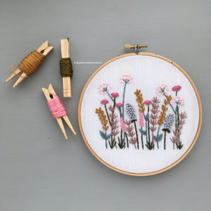Spring Meadow embroidery pattern by And Other Adventures Embroidery Co
