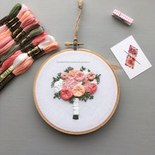 The Brooke Bouquet Embroidery Kit | The Bloom Collection