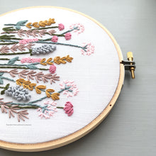 Spring Meadow digital download hand embroidery pattern hoop art by And Other Adventures Embroidery Co