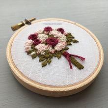 Valentine's Day Embroidered Bouquet by And Other Adventures Embroidery Co