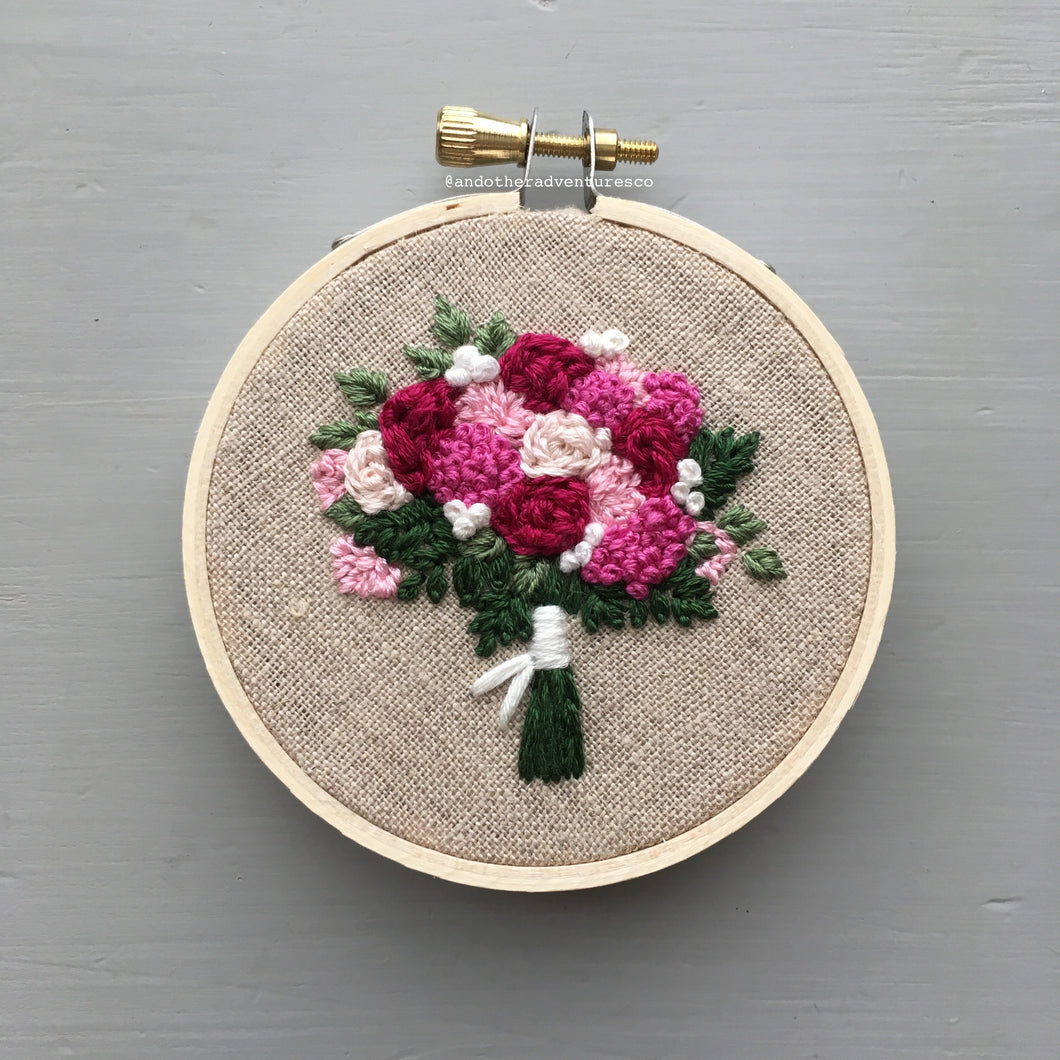 Farmers Market Embroidered Bouquet No. 35