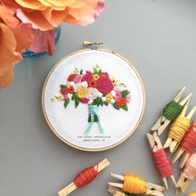 The Adrianna bouquet by And Other Adventures Embroidery Co