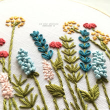 Floral Embroidery Pattern by And Other Adventures Embroidery Co