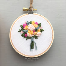 Spring Floral Embroidery Art by And Other Adventures Embroidery Co