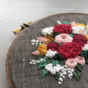 Modern Hand Embroidery Gift by And Other Adventures Embroidery Co