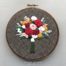 Rich Fall Bouquet Embroidery by And Other Adventures Embroidery Co