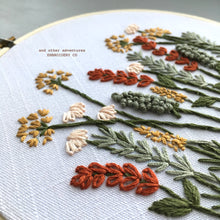 Beginner Hand Embroidery Kit by And Other Adventures Embroidery Co - Autumn Meadow