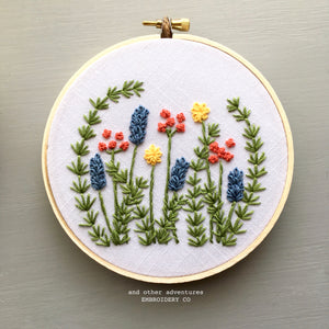 Beginner Hand Embroidery Pattern by And Other Adventures Embroidery Co