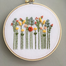 floral embroidery