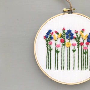 bright hand embroidery