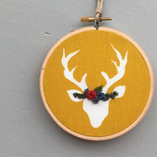 Embroidered Christmas Ornament by And Other Adventures Embroidery Co