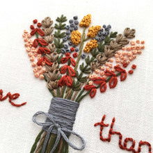 And Other Adventures DIY floral hand embroidery