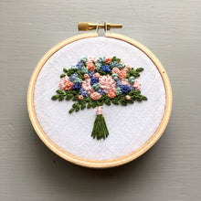 Farmers Market Embroidered Bouquet No. 25