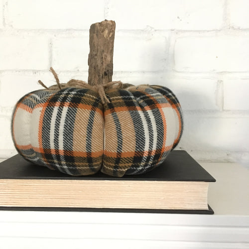 Black and Orange Halloween Pumpkin
