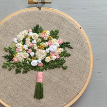 Farmers Market Embroidered Bouquet No. 20