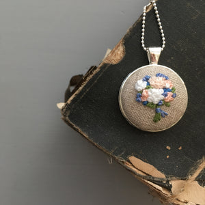 necklace embroidery