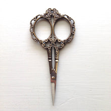 Antique Gold Vintage Style Embroidery Scissors