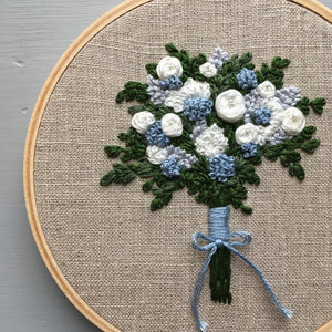 Farmers Market Embroidered Bouquet No. 21