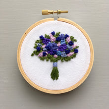 Farmers Market Embroidered Bouquet No. 24
