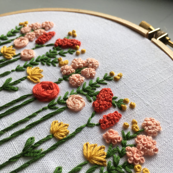 DIY embroidery kit