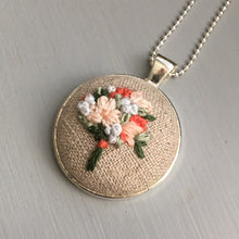 handmade necklace embroidery