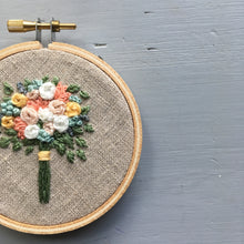Farmers Market Embroidered Bouquet No. 19
