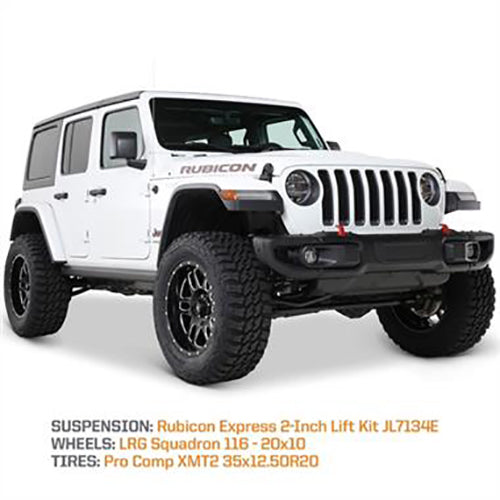 Rubicon Express 2 Inch 2018 Jeep Wrangler JL Lift Kit With Shock Extensions